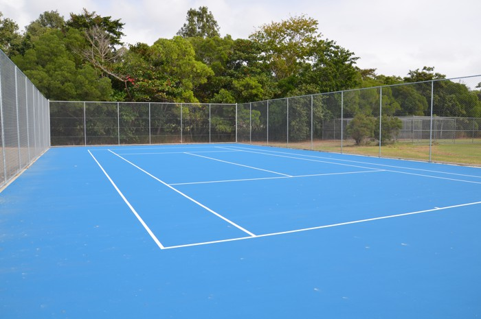 Queensland Sports Courts Acrylic surfaces